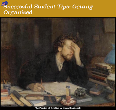 Successful Student Tips: Getting Organized