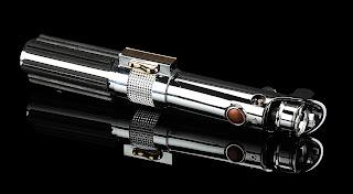 Anakin Skywalker's (Hayden Christensen) Hero Lightsaber from STAR WARS: REVENGE OF THE SITH