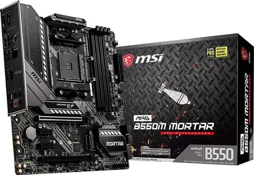 MSI MAG B550M Mortar Gaming Motherboard