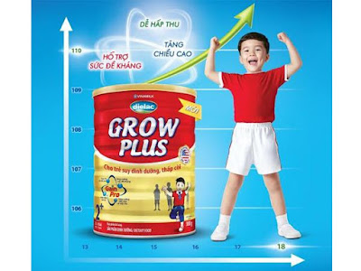 Uống sữa gì để giúp bé tăng cân nhanh hơn.