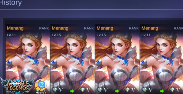 Odette Hero Mage Deadly in the Mobile Legends game