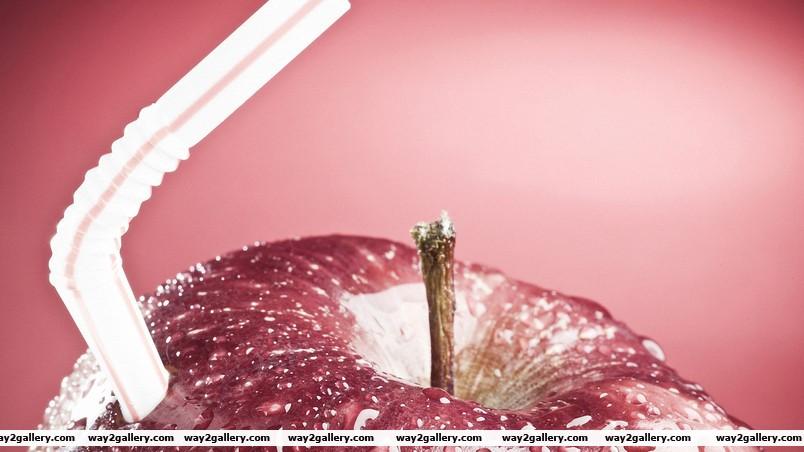 Apple juice wallpaper