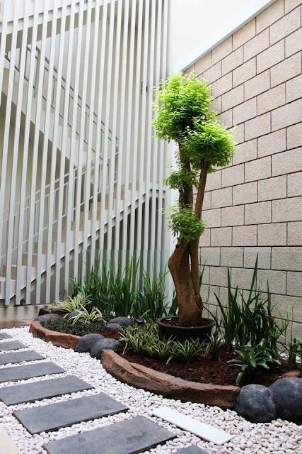 como decorar jardim pequeno
