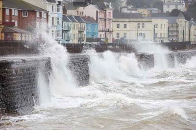 aumento do nivel do mar