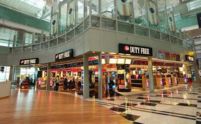 cửa hàng duty free ở singapore