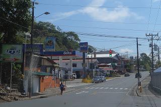 street light in Santiago de Puriscal