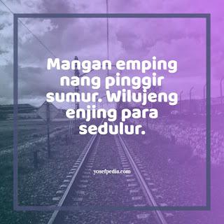 Ucapan Selamat Pagi Bahasa Jawa