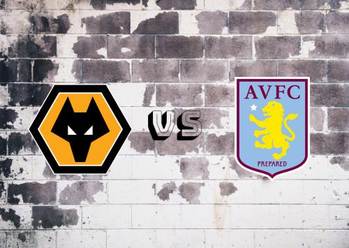 Wolverhampton Wanderers vs Aston Villa  Resumen