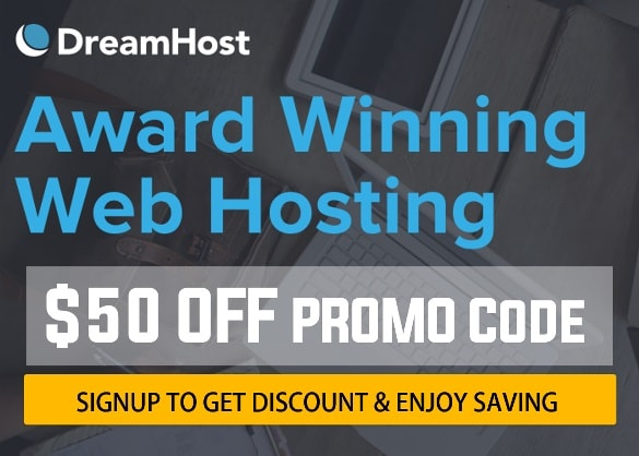 DreamHost Review Coupon Code Get discount on web hosting free domain