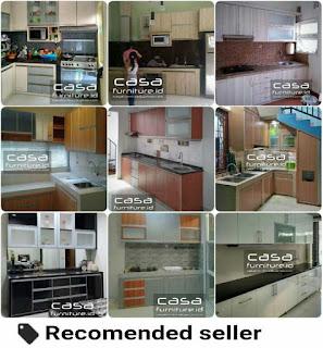 Jasa kitchen set minimalis murah Tangerang, harga murah kitchen set minimalis BSD City Serpong