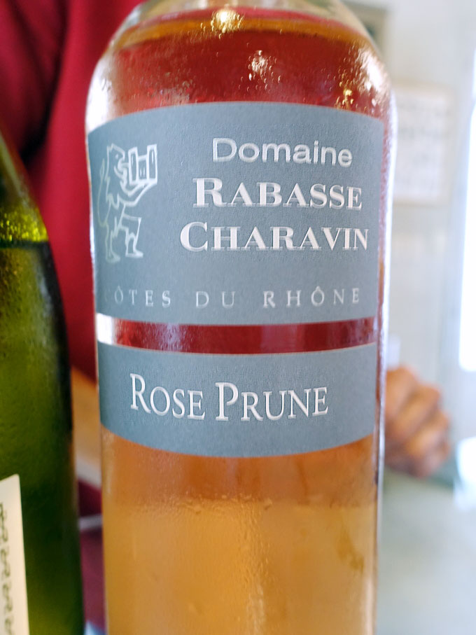 Domaine Rabasse Charavin Rose Prune 2017 (88 pts)
