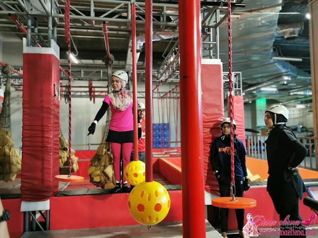 Ninja Warrior Course di District 21