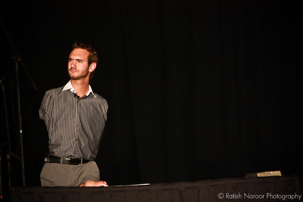 Nick vujicic at salt lake utah