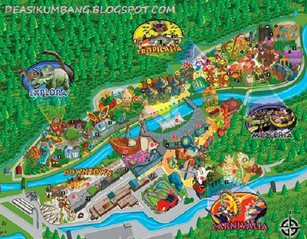 Jungleland, Sentul, Bogor   Menguji Adrenalin Di Alam Pegunungan
