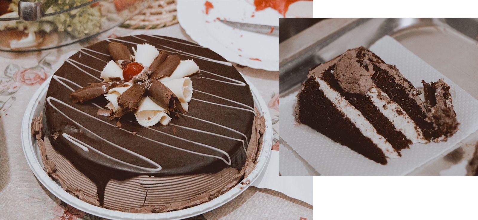 Teve festinha em casa | SNAPSHOTS Bolo de chocolate