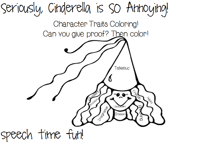 Speech Time Fun: Seriously, Cinderella is SO Annoying