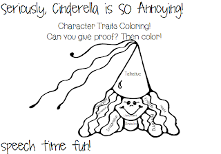 Reading Comprehension Stories: Seriously, Cinderella is SO