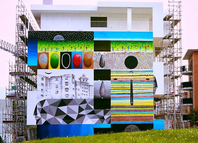 Xuan Alyfe's New Street Art Piece For Arte Urbana Lugano In Switzerland 2