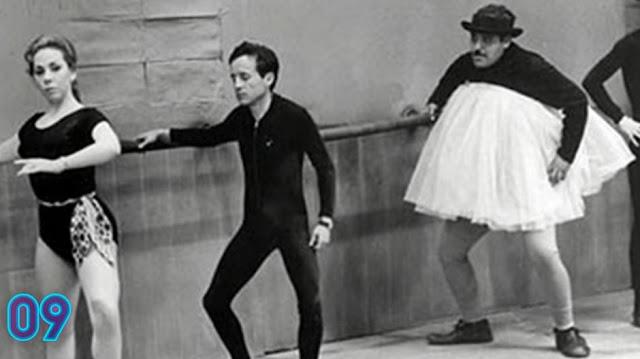 A primeira aparição de Roberto como ator