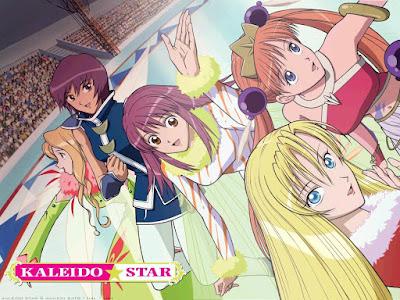 Kaleido Star anime season one main cast