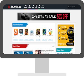 JalanTikus Blogger Template Free Download