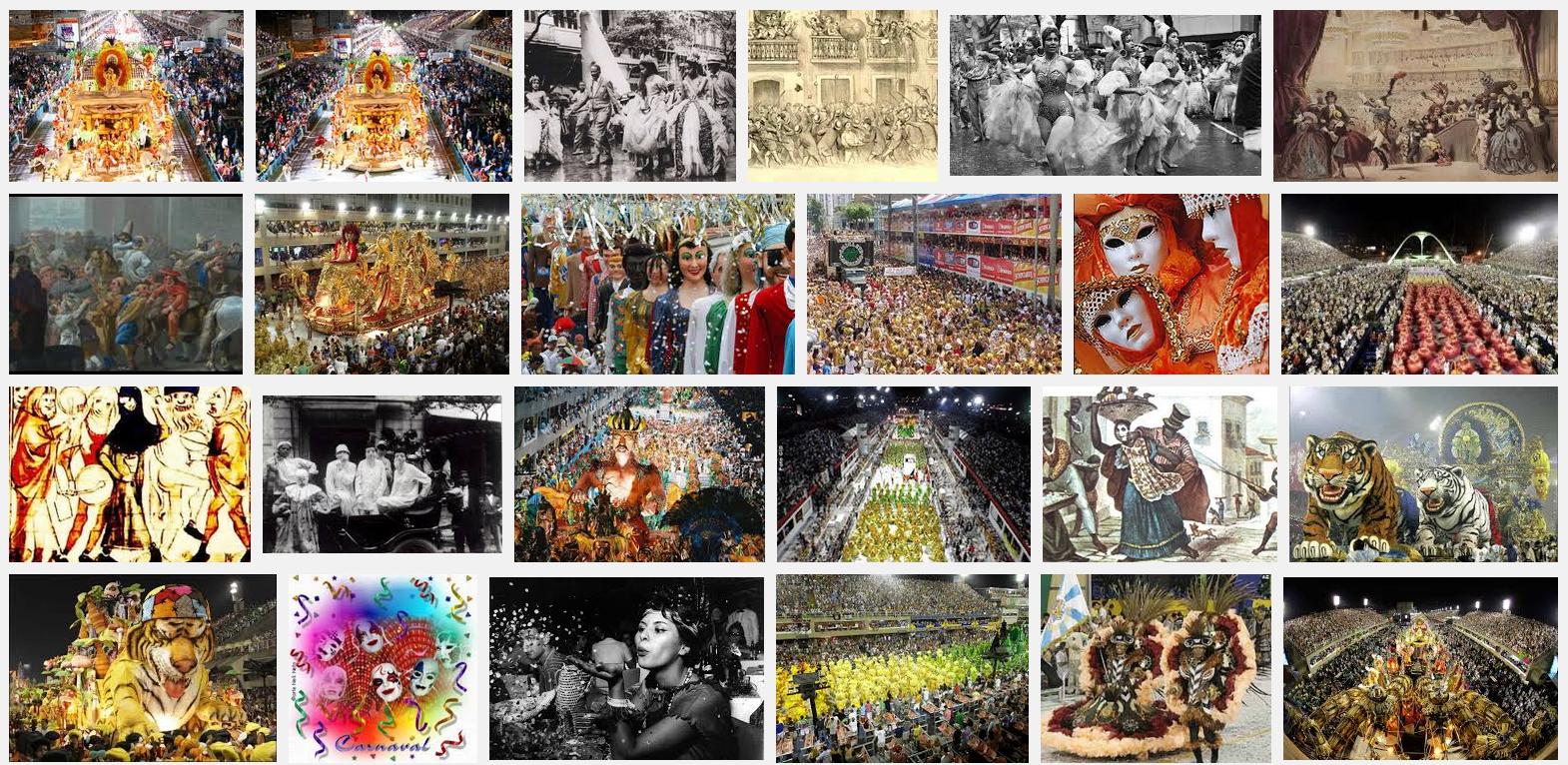 #História do Carnaval no Brasil e no Mundo
