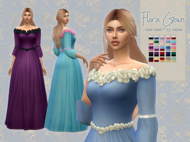 платья, средневековый стиль, для The Sims 4, платья для The Sims 4, одежда для The Sims 4, женская одежда The Sims 4, гардероб The Sims 4, для девушек The Sims 4, для женщин The Sims 4, моды для The Sims 4, пользовательский контент для The Sims 4,