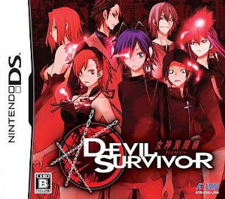 Shin Megami Tensei: Devil Survivor, NDS, Español, Mega, Mediafire