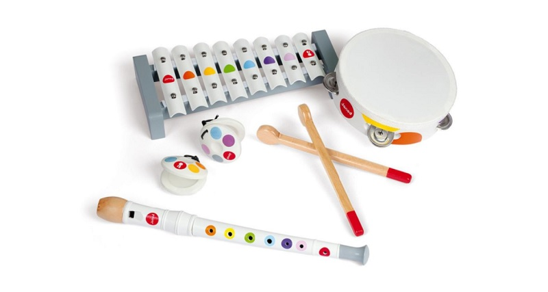 janod kids wooden musical instruments