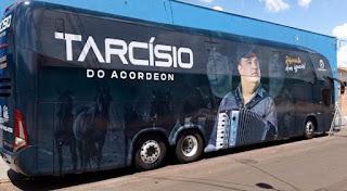 Tarcísio do Acordeon se apresenta em Campo Maior em janeiro