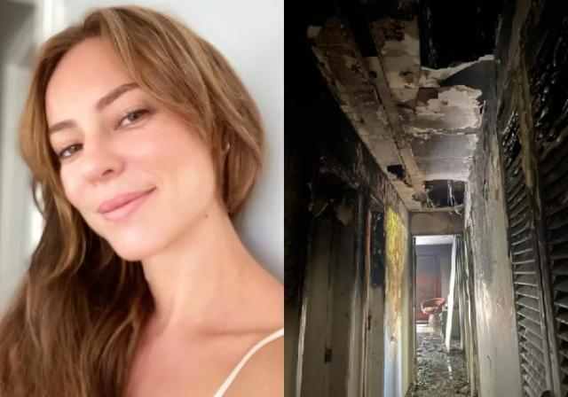 Casa de Paolla Oliveira pega fogo após pane elétrica: 'Dia difícil'