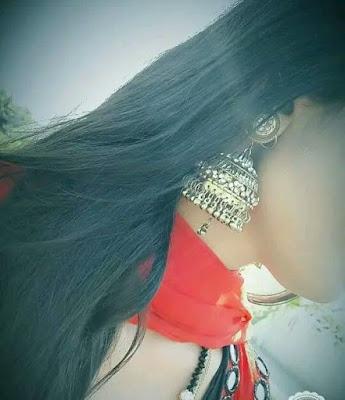girls earrings whatsapp dp