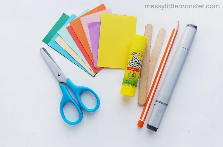 stick puppet craft supplies