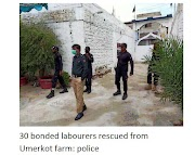 30 convicted workers rescued from Umerkot farm: Police