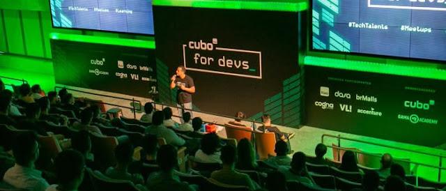 Cubo For Devs está com 160 vagas abertas para desenvolvedores.