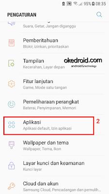 Pengaturan atau Setting di Android Nougat