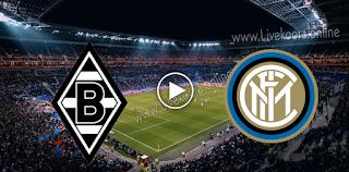 مشاهدة مباراة انتر ميلان وبوروسيا مونشنغلادباخ بث مباشر بتاريخ 21-10-2020 في دوري أبطال أوروبا