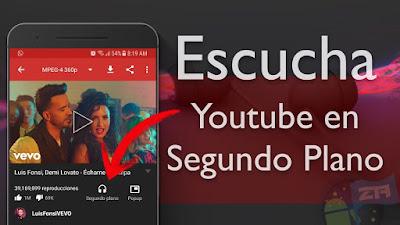 YouTube APK MOD Premium sin conexión y reproducción en segundo plano (sin anuncios)
