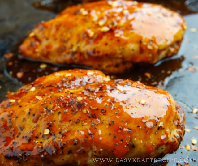 BAKED FIRECRACKER CHICKEN