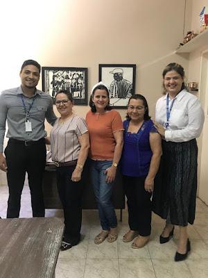 Secretaria Municipal de Educação de Itaú recebe visita de consultores do CIEE