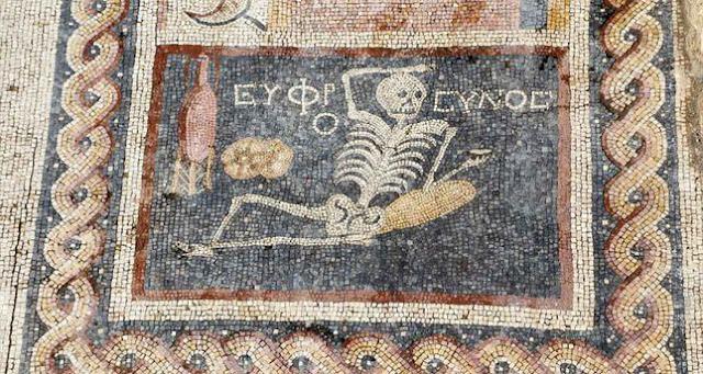 Νέο αρχαιοελληνικό ψηφιδωτό ανακαλύφθηκε στην Αντιόχεια