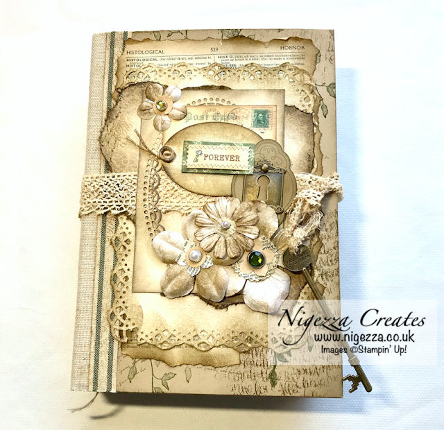 Nigezza Creates a Junk Journal using Stampin' Up! and her stash!