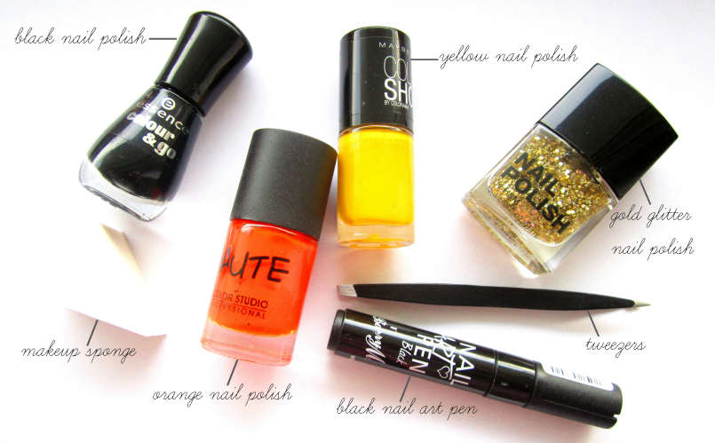 Catching Fire - Nail Art Tutorial