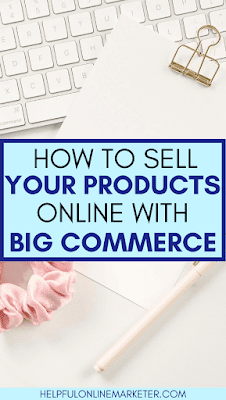 Do you want to start your own online business but feel that it would be too hard or expensive? In my blog post I show you how to sell your products online with this affordable shopify alternative! Online store ideas,  online shop ideas, make money online. #onlinebusiness #makemoneyonline
