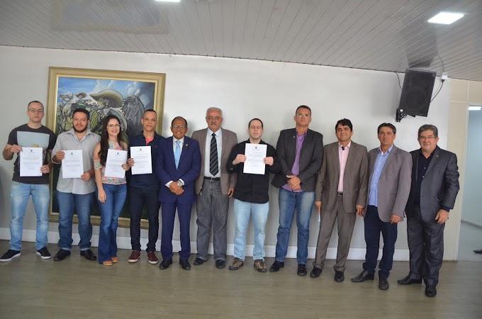 Solenidade marca posse dos novos candidatos aprovados no concurso da CMCG