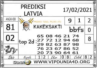 Prediksi Togel LATVIA DUNIA4D 17 FEBRUARI 2021