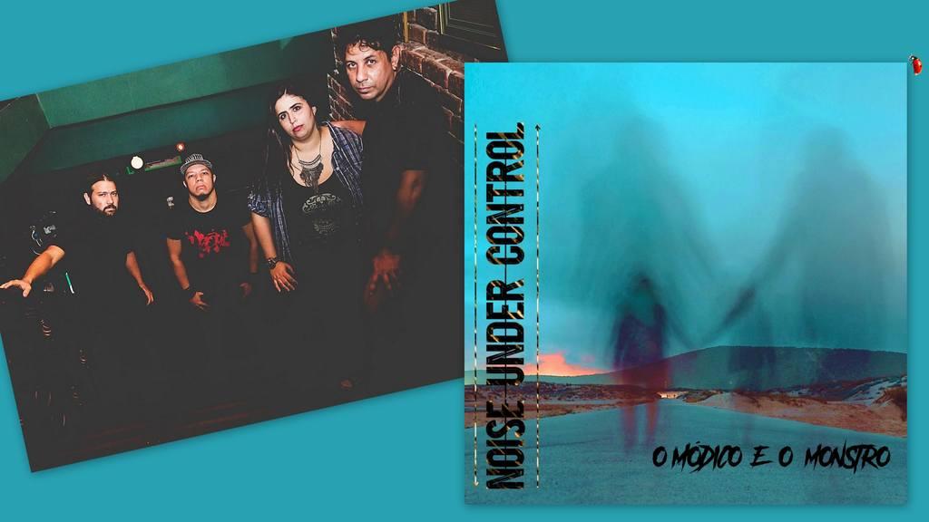 """A banda carioca Noise Under Control dialoga sobre saúde mental e transtornos de personalidade em uma batalha interna em """"O Módico e o Monstro"""""""