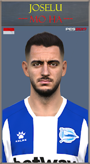 PES 2017 Faces Joselu by Mo Ha