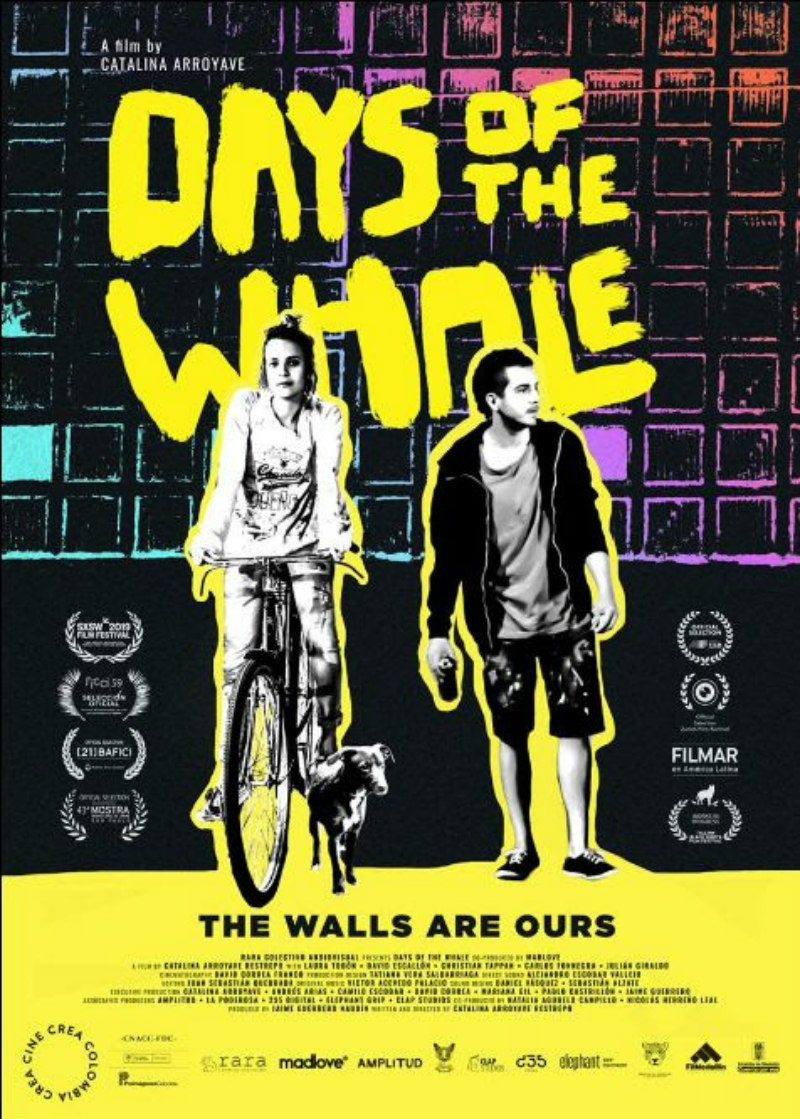 days of the whale poster