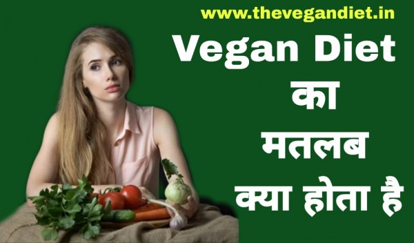 What is Vegan Meaning in Hindi